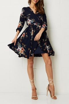 frontrow Wrap Floral Dress - Product List Image