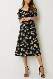 frontrow Wrap Floral Dress - Product Mini Image