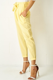 frontrow Yellow Paperbag Trousers - Product Mini Image