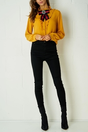 frontrow Yellow Ribbon Blouse - Front full body