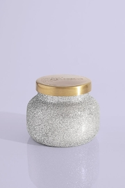 Capri Blue Frosted Fireside Glam Petite Jar, 8 oz - Front cropped
