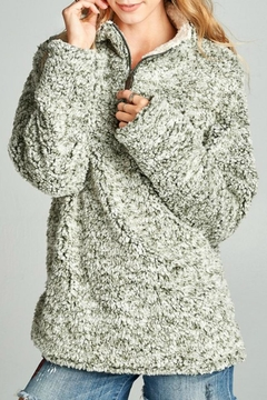 Shoptiques Product: Frosted Tip Pullover