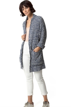 Shoptiques Product: Frosting Blue Cardigan