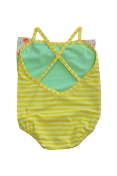 Frou Frou Yellow Striped Swimsuit - Alternate List Image