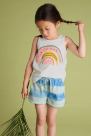 Tea Collection Fruit Rainbow Graphic Tank - Front full body