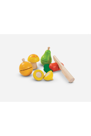 Plan Toys Fruit & Vegetable Play Set - Front cropped