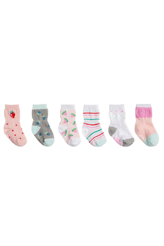 Shoptiques Product: Fruity Socks 6 Pack