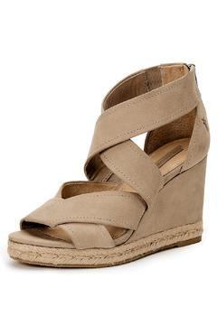 Frye Leather Strap Wedge - Product List Image