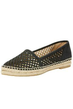 Frye Perforated Leather Flat - Alternate List Image