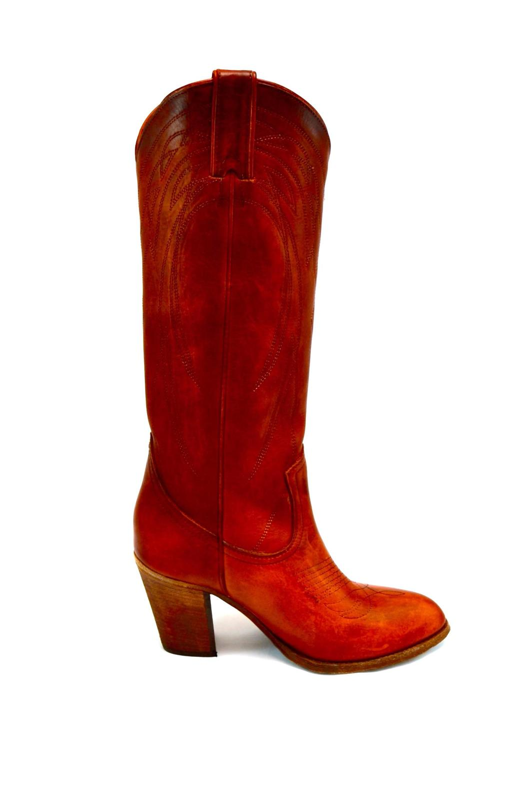 ed819e11f0d Frye Pull-On Heeled Boot from California by Shoefly & Sox — Shoptiques