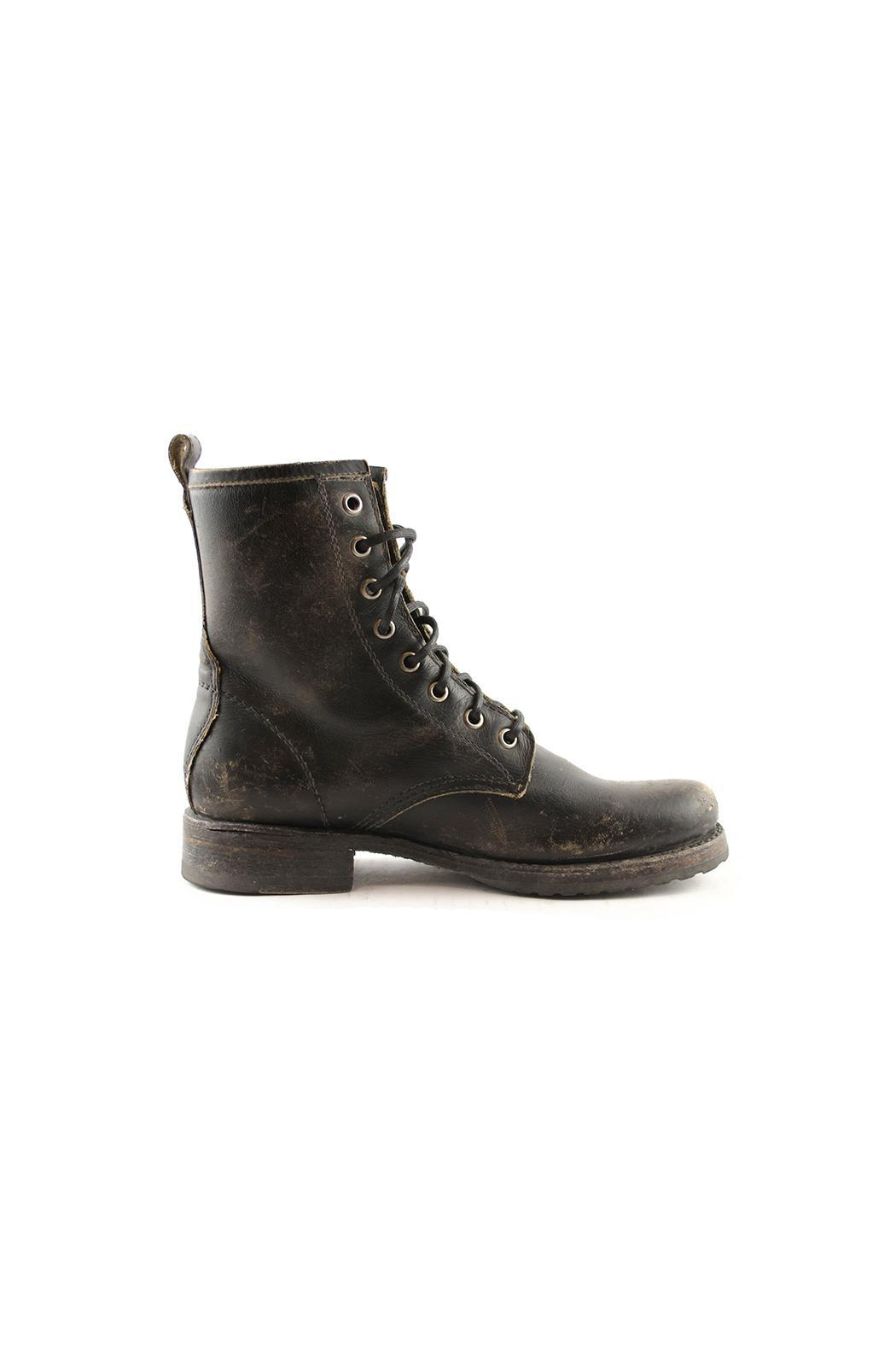 Frye Veronica Combat Boot - Side Cropped Image