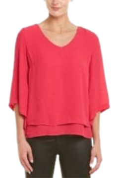 INSIGHT NYC Fuchsia Angled Sleeve Blouse - Product List Image