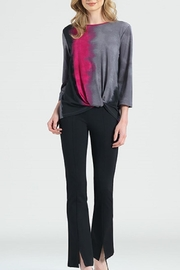 Clara Sunwoo Fuchsia/black Ombre Top - Product Mini Image