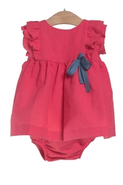 Fina Ejerique Fuchsia Dress Set. - Front cropped