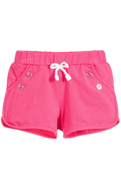 Shoptiques Product: Fuchsia Knit Shorts