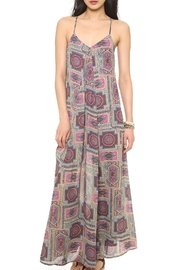 love sadie Fuchsia Paisley Maxi-Dress - Product Mini Image