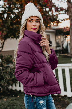 Love Valentine Boutique Fuchsia Puffer Jacket - Product List Image