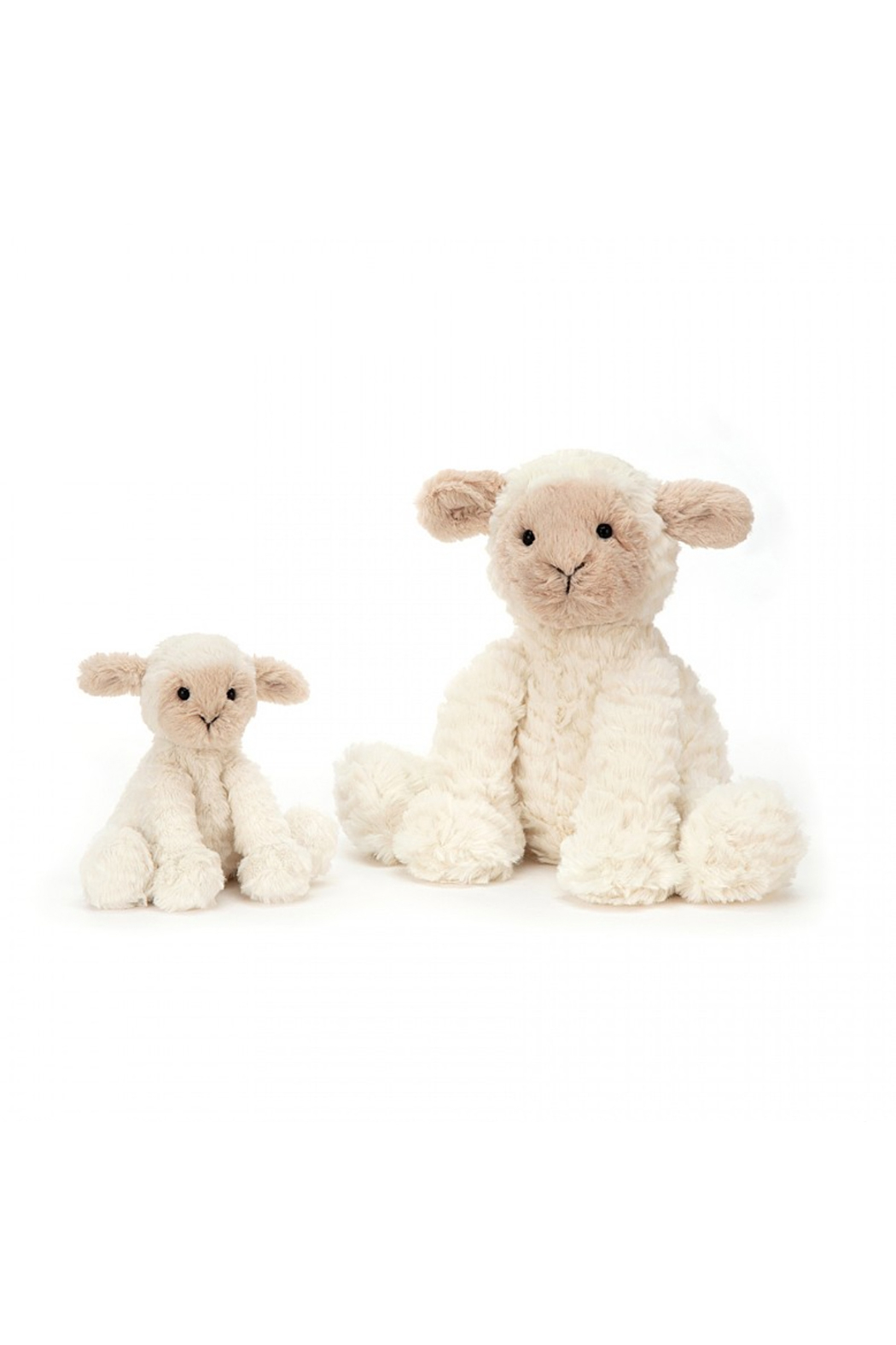 Jellycat Fuddlewuddle Lamb Medium - Front Full Image