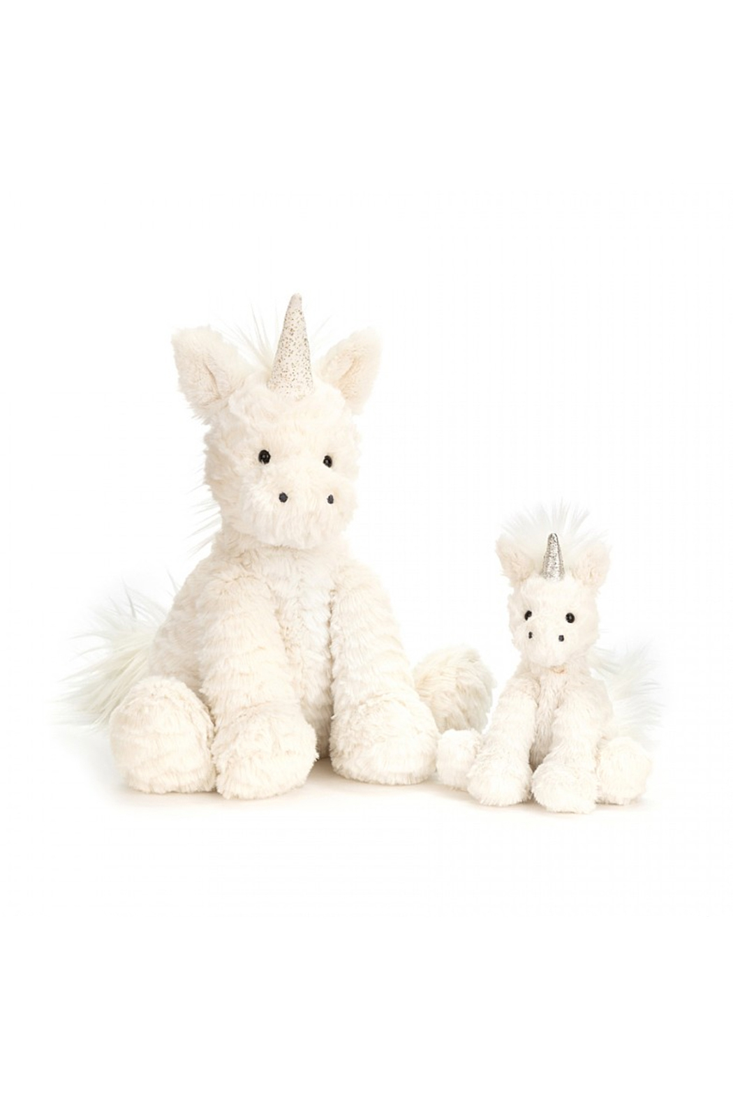 Jellycat Fuddlewuddle Unicorn Medium - Front Full Image