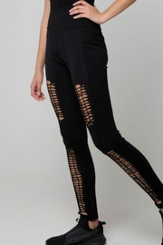 The Hanger Boutique  Full Braided Leggings - Product Mini Image