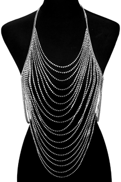 Shoptiques Product: Full Crystal Body-Chain