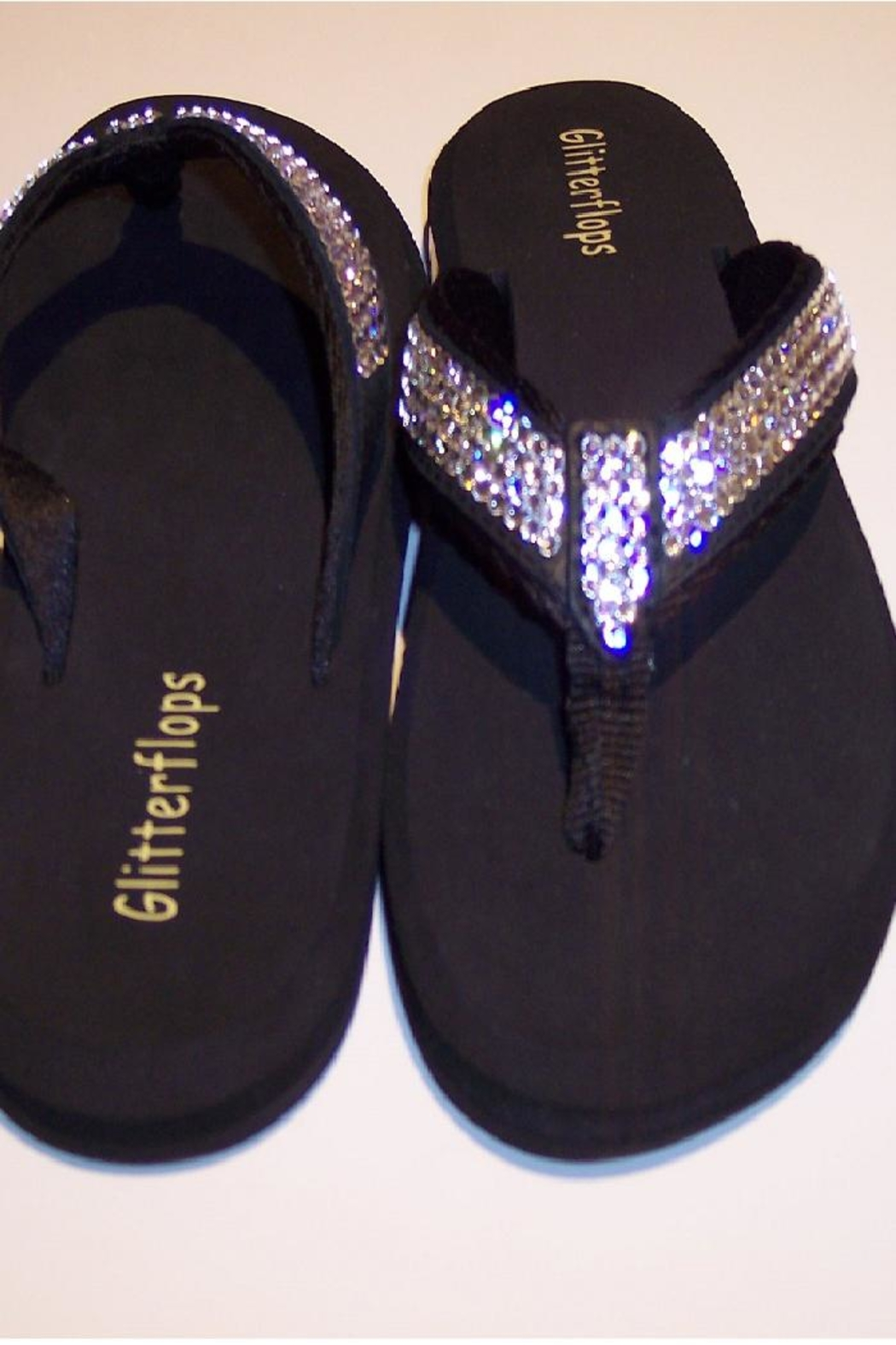 49e4cfe80 Glitterflops Full Crystal Flipflops from Texas by Rock2Royal ...