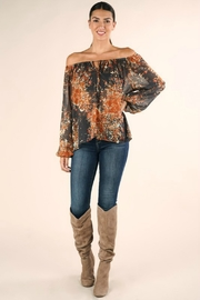 Lovestitch FULL FALL BLOOM BLOUSE - Front cropped