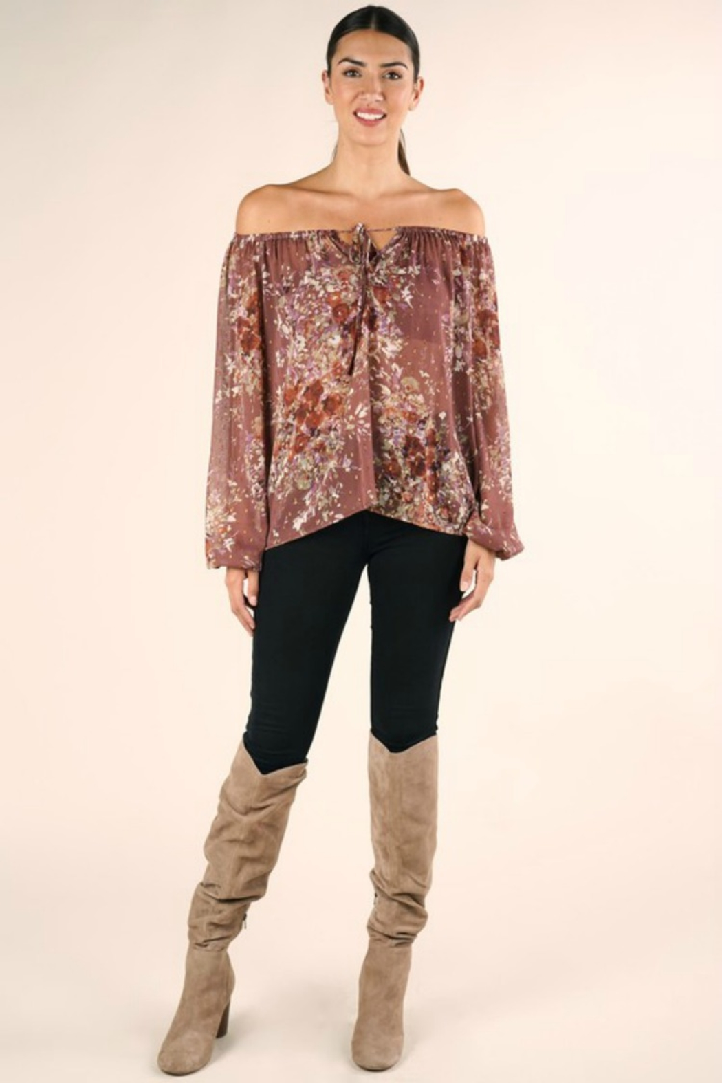 Lovestitch FULL FALL BLOOM BLOUSE - Main Image