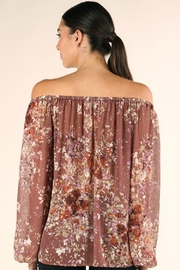 Lovestitch FULL FALL BLOOM BLOUSE - Side cropped