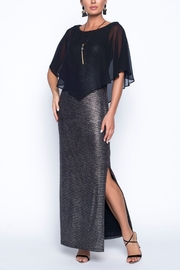 Frank Lyman Full Length Chiffon Overlay Gown - Product Mini Image