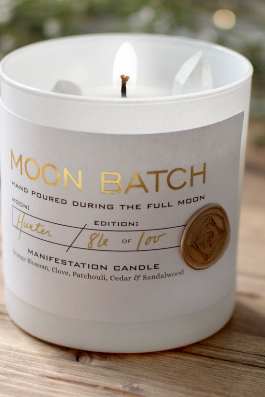 Ritual Provisions Full Moon Blend Candle - Main Image