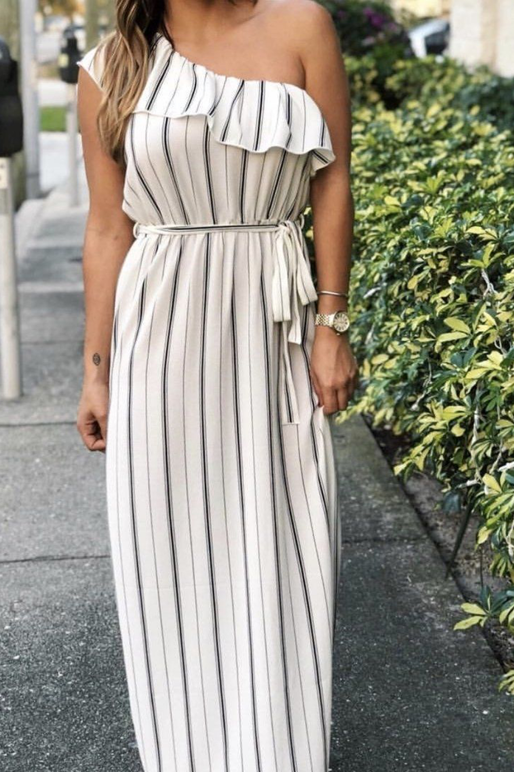 SAGE THE LABEL Full Moon Maxi Dress - Back Cropped Image