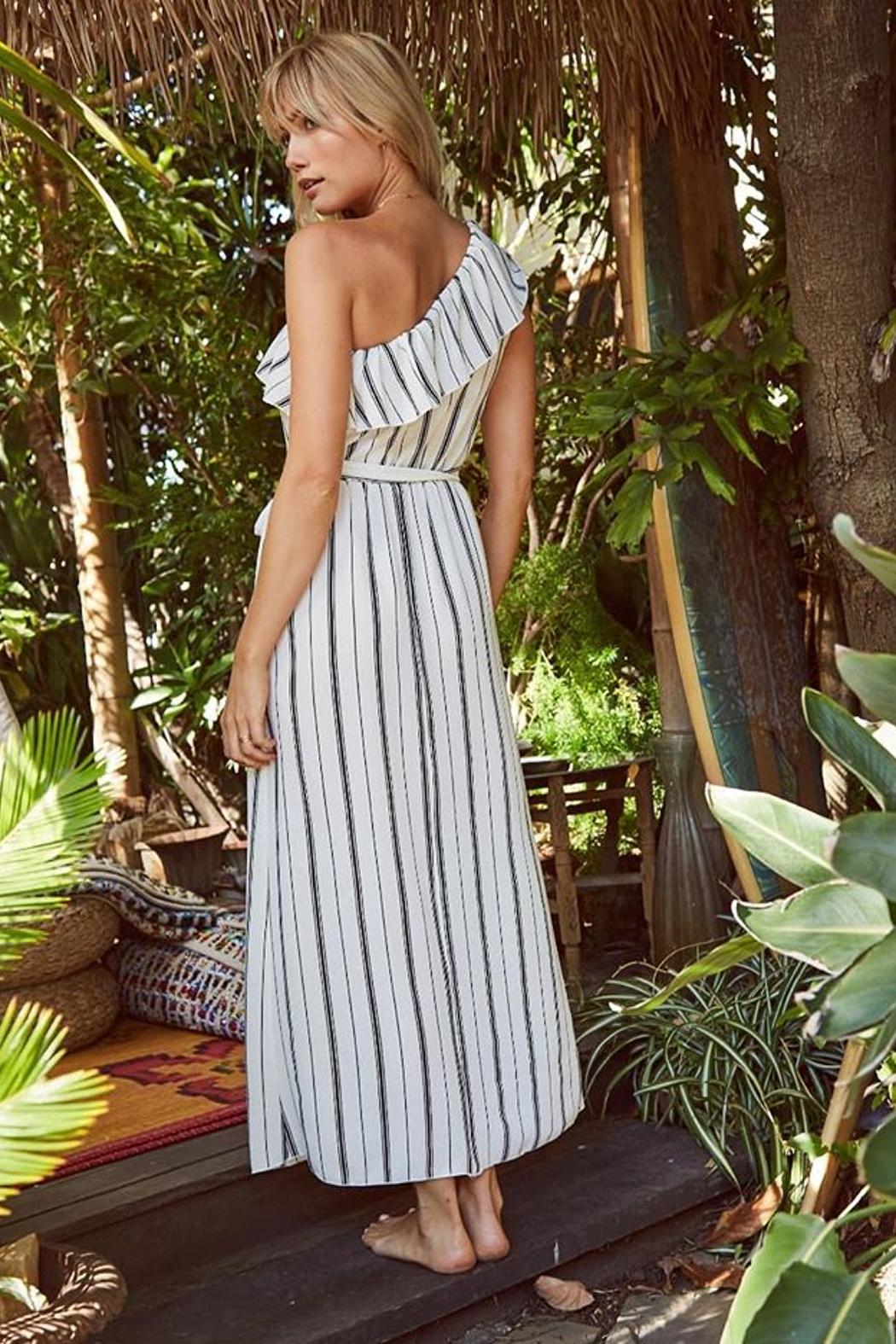 SAGE THE LABEL Full Moon Maxi Dress - Front Full Image