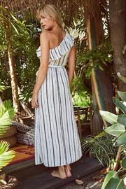 SAGE THE LABEL Full Moon Maxi Dress - Front full body