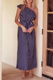 SAGE THE LABEL Full-Moon One-Shoulder Maxi - Side cropped