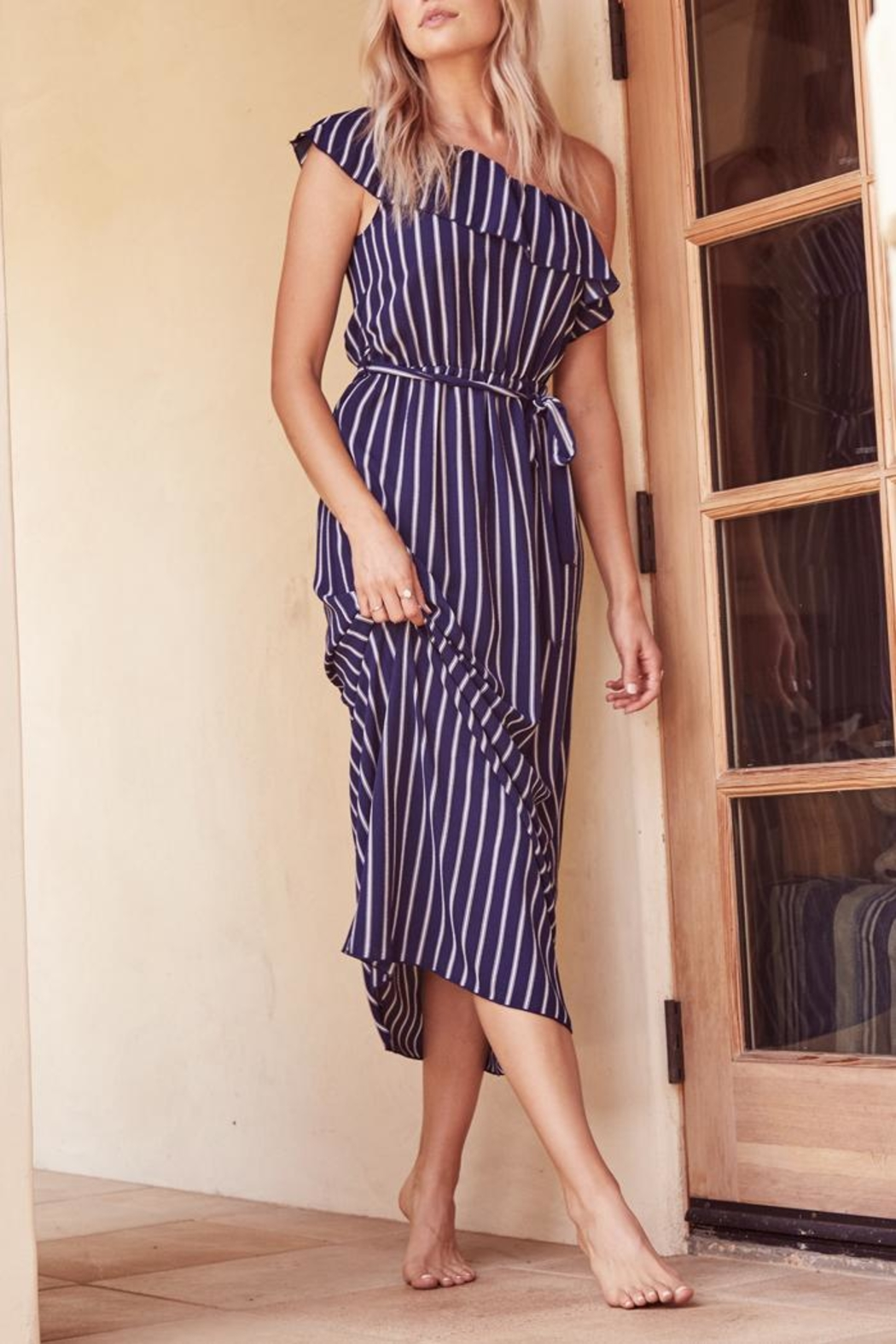 SAGE THE LABEL Full-Moon One-Shoulder Maxi - Main Image