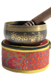Tibet Arts Full Moon Singing Bowl - Front cropped