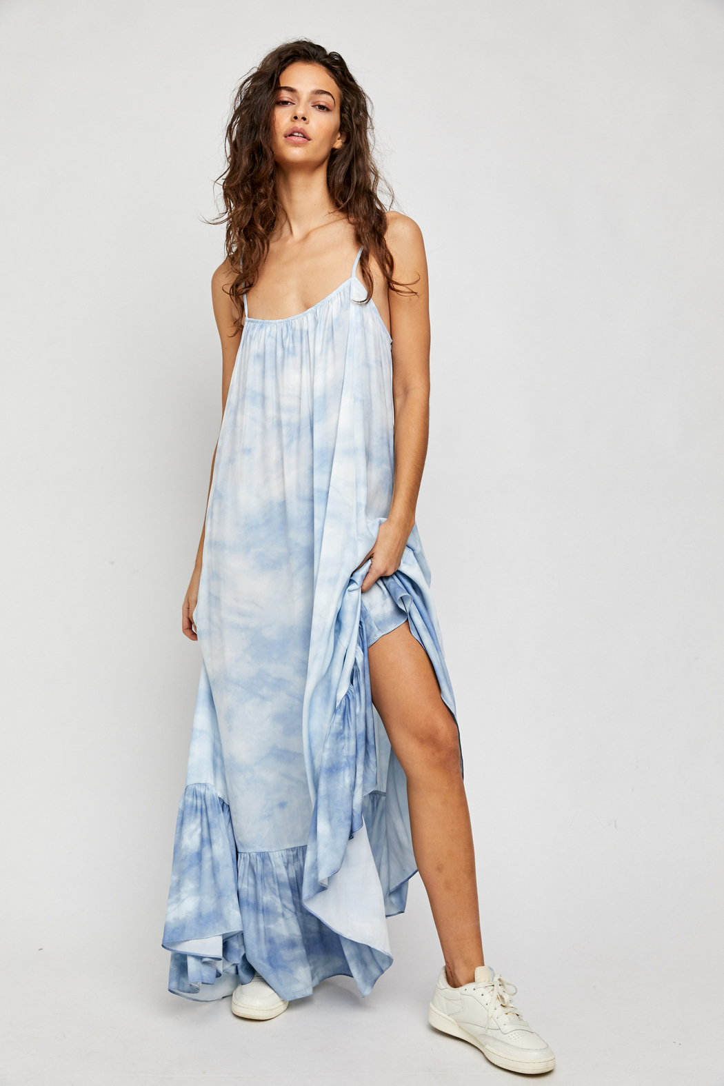 Free People  Full On Maxi Slip - Front Cropped Image