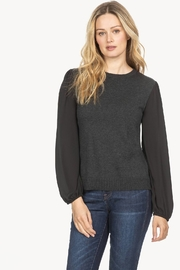 Lilla P Full Sleeve Crew Neck Sweater - Front cropped