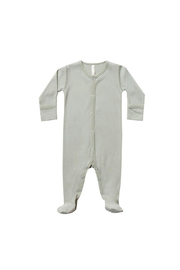 Quincy Mae Full Snap Footie - Sage - Product Mini Image