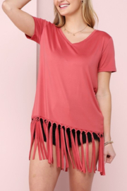 Ninexis Fun in Fringe top - Front cropped