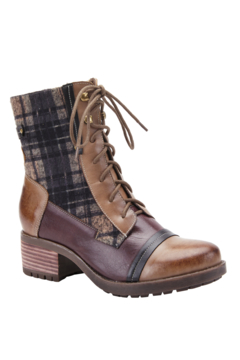 Spring Footwear Fun Plaid Boots - Product List Image