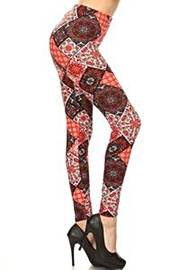 Love It Fun Print Leggings - Front cropped