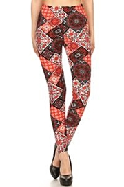 Love It Fun Print Leggings - Front full body