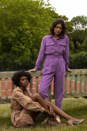 FRNCH Fun Violet Jumpsuit - Other