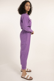 FRNCH Fun Violet Jumpsuit - Side cropped