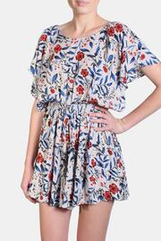 fun 2 fun Frida Floral Romper - Product Mini Image