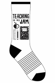 Funatics Socks Teaching Is My Jam - Product Mini Image