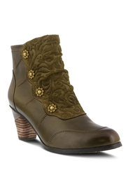 Spring Footwear Funky Olive Bootie - Product Mini Image