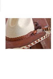 Patricia Wolf Designs Funky Western Hat - Side cropped